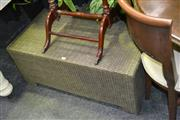 Sale 8046 - Lot 1048 - Wicker Coffee Table