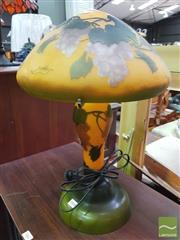 Sale 8447 - Lot 1068 - Galle Style Table Lamp