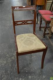 Sale 8566 - Lot 1642 - Set of 4 Timber Dining Chairs