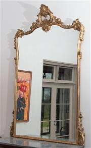 Sale 8782A - Lot 67 - An elaborately carved Antique French rococo style mirror. Height 220cm approx. x 150cm