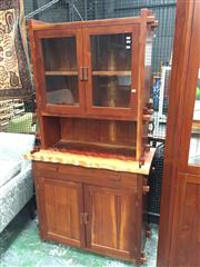 Sale 8889 - Lot 1445 - Australian Rosewood Credenza with 2 Doors and Hutch