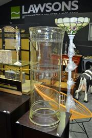 Sale 8117 - Lot 901 - A large scientific glass tube by Pyrex