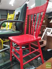 Sale 8455 - Lot 1053 - Pair of Spindle Back Dining Chairs