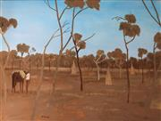 Sale 8695A - Lot 5027 - Ray Crooke (1922 - 2015) - Ant Hill - Cape York 75 x 100cm
