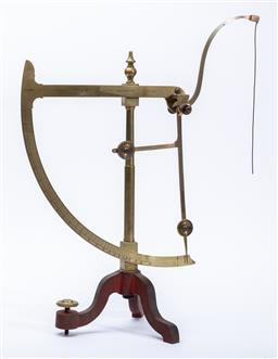 Sale 9130E - Lot 80 - An English c.19th precision scale by Goodbrands and co. Ltd Manchester, Height 53cm