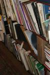 Sale 7670A - Lot 817 - Three bays of records - 33rpms mainly classical and big band plus a few books