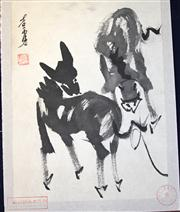 Sale 8153 - Lot 79 - Teaching Album Attributed to Huang Zhou (1925-1997)
