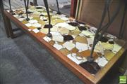 Sale 8302 - Lot 1043 - Retro Tile Top Coffee Table