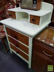 Sale 8465 - Lot 1066 - Over Sized Timber Drawer Unit