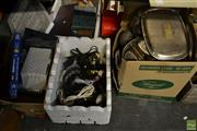 Sale 8563T - Lot 2366 - 2 Boxes of Electrical Items & Leads