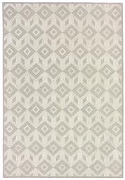 Sale 8651C - Lot 89 - Colorscope Collection; Flatweave Machine Made Wool/Chenille Geo - Grey/White Rug, Origin: Belgium, Size: 160 x 230cm, RRP: $499