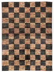 Sale 8800C - Lot 81 - A Striped Afghan Chobi, Naturally Dyed In Hand Spun Wool, 247 x 180cm