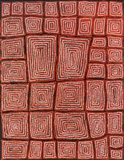 Sale 9043A - Lot 5048 - Thomas Tjapaltjarri (c1964 - ) - Tingari 125 x 96 cm (stretched and ready to hang)