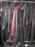Sale 7926A - Lot 1787 - Leather Clothing including jackets and a boiler suit