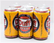 Sale 8287A - Lot 98 - A Duff beer 6 pack.