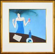 Sale 8309 - Lot 590 - Kate Smith (1947 - ) - Recipe for Disaster 54 x 59cm
