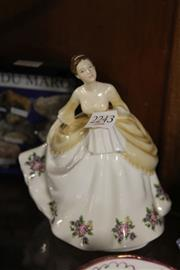 Sale 8336 - Lot 34 - Royal Albert Figure Linda