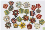 Sale 8608 - Lot 95 - Assortment of Chinese Metal Badges