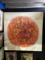 Sale 8891 - Lot 2013 - Artist Unknown - Geometric Abstract (Sphere) acrylic on canvas, 120 x 120cm