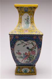 Sale 9070 - Lot 66 - A Bird And Flower Decorated Chinese Vase H: 46cm