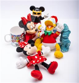 Sale 9185 - Lot 88 - A collection of Disney items incl mickey mouse