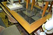 Sale 8093 - Lot 1483 - Dining Setting with Table and 6 Chairs