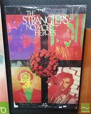 Sale 8421 - Lot 1063 - Vintage and Original The Stranglers No More Heroes Promotion Poster (76cm x 50.5cm)