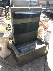 Sale 8801 - Lot 1500 - Stone Water Feature