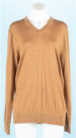 Sale 9091F - Lot 239 - A SABA MERINO KNIT in tan, size M (new with tags)