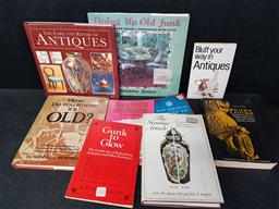 Sale 9254 - Lot 2005 - Carton of Books on Repair & Care of Antiques incl The Care and Rair of Antiques 1992 Chancellor & Otto Kurz Fakes 1967 Dover