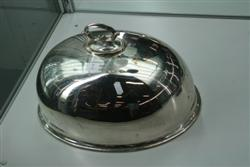 Sale 7917 - Lot 7 - Silver Plated Meat Dome