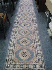 Sale 7933A - Lot 1160 - Hand Knotted Pakistani Pure Wool Runner (495 x 77cm)