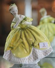Sale 7950 - Lot 3 - Royal Doulton The Last Waltz Figure