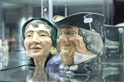 Sale 8346 - Lot 25 - Royal Doulton Character Jugs The Fortune Teller & Parson Brown