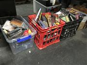 Sale 8759 - Lot 2156 - 4 Boxes of CDs and DVDs