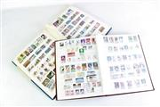 Sale 8957 - Lot 12 - 1 Blue & 1 Brown Albums of American & Other Stamps