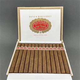 Sale 9120W - Lot 1440 - Hoyo de Monterrey 'Palmas Extra' Cuban Cigars - box of 25 cigars, dated August 2020