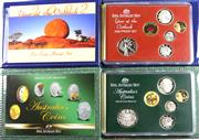 Sale 8299C - Lot 502 - ROYAL AUSTRALIAN MINT PROOF COIN SETS; 2002 Year of the Outback six coin set, $2, $1, 50c, 20c, 10c, 5c, 2004 Australian Coins, six...