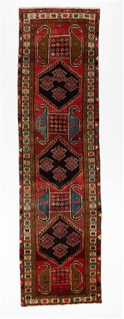 Sale 8800C - Lot 85 - A Persian Ardabil From Azerbaijan Region 100% Wool Pile On Cotton Foundation, 110 x 400cm