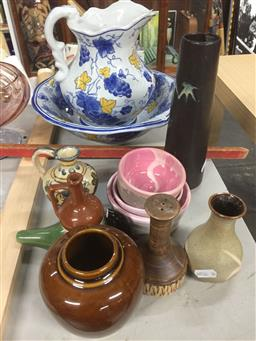 Sale 9152 - Lot 2535 - Small Collection Of Ceramic Vessels and Vases