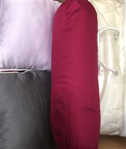Sale 8310A - Lot 419 - Cumi Kookoon comforter, together with 4 various pillows