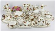 Sale 8342 - Lot 93 - Royal Albert Old Country Roses Dinner Setting for Six Persons