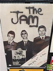 Sale 8421 - Lot 1022 - Vintage and Original The Jam Album Gig and Album Promotional Poster (70.5cm x 50cm)