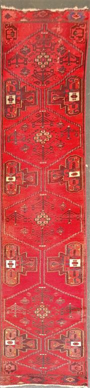 Sale 8669 - Lot 1030 - Red Tone Hall Runner (292 x 72)