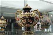 Sale 7977 - Lot 16 - Royal Crown Derby Imari Pattern Lidded Urn (restored)
