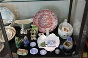 Sale 8217 - Lot 176 - Masons Charger with Other Ceramics incl Wedgwood Jasper Ware