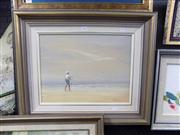 Sale 8441T - Lot 2068 - P. Phillips - Where the Birds Thers Fish, oil on canvas on board, 34 x 44cm, signed lower right