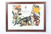 Sale 8757 - Lot 25 - A 1991 Rugby World Cup Ltd Ed Print 216/250