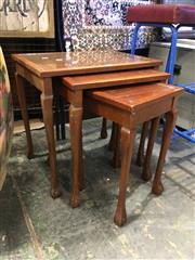 Sale 8782 - Lot 1727 - Nest of 3 Tables