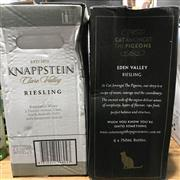 Sale 8801W - Lot 19 - 2x 6 Riesling - 6x Knappstein, 6x Cat Amoungst The Pigeons (12 Bottles)